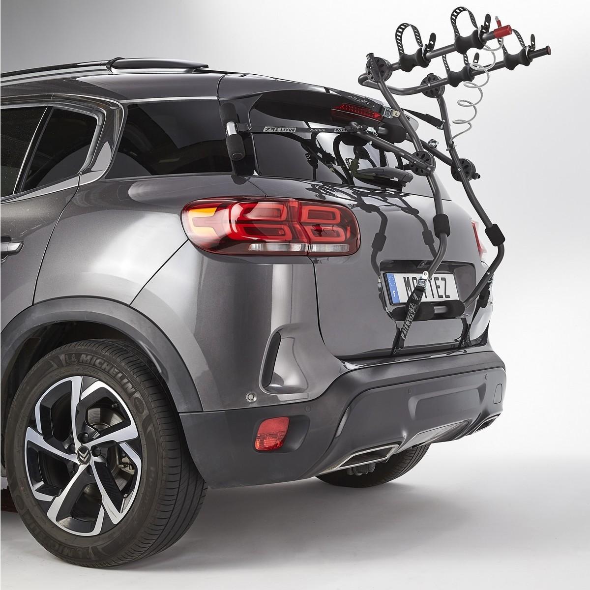 Porte-vélo 2 vélos électriques sur hayon