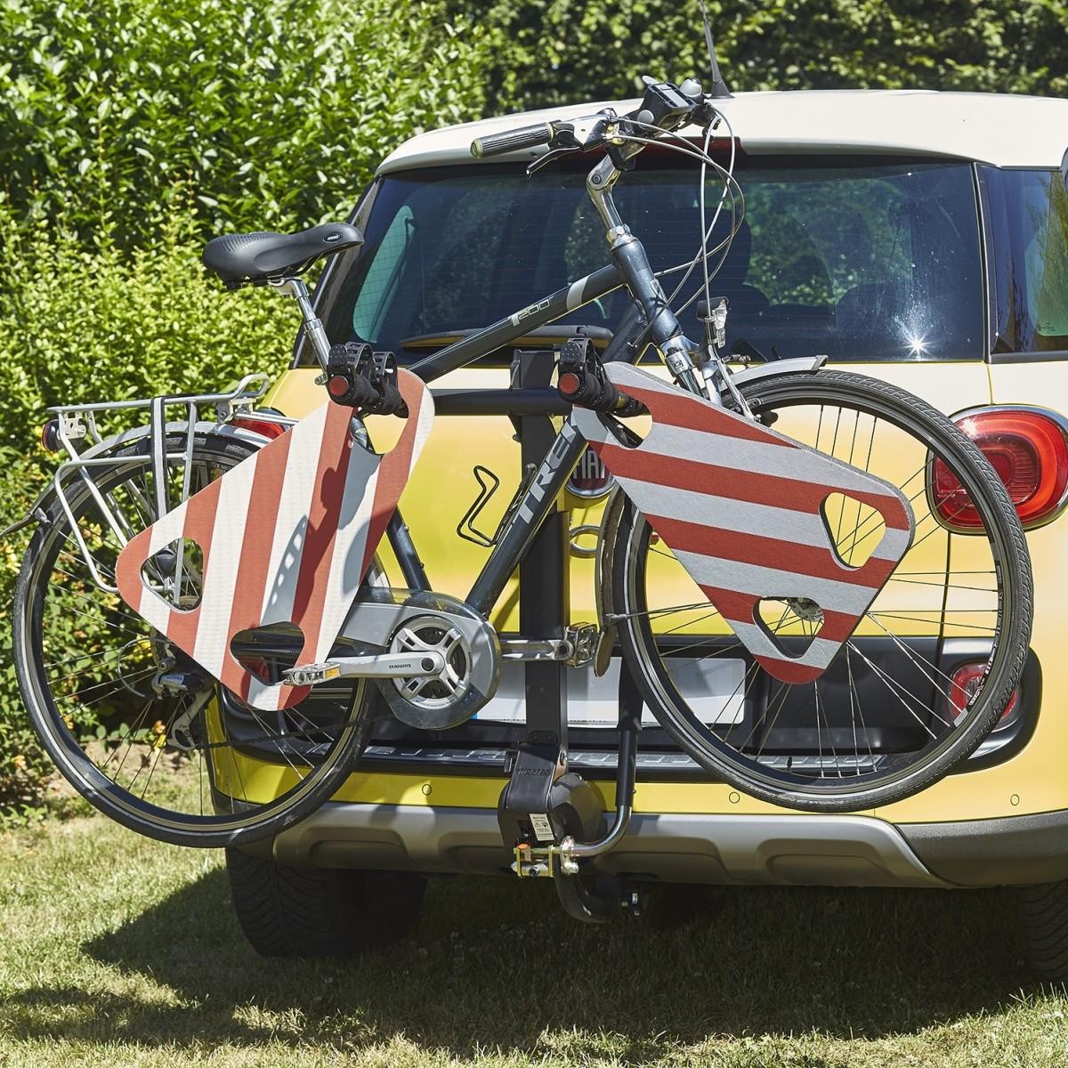 Protection de vélo en mousse