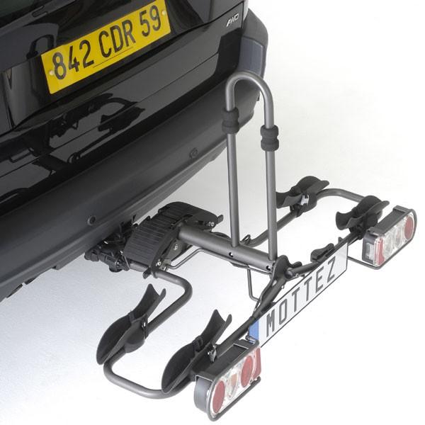 Porte-vélo pliable 2 vélos