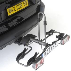 2 bike folding towball platform carrier